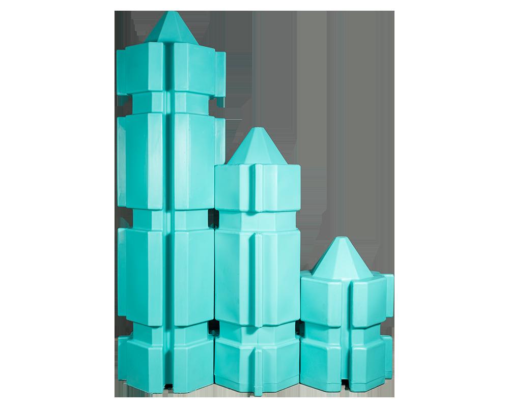 flosshaus.de Schwimmkörper in drei verschiedenen Größen